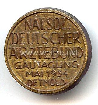 III. Reich - Nat.Soz. Deutscher Ärztebund Gautagung Mai 1934 Detmold