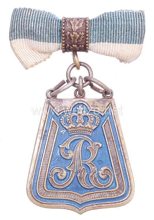 Sachsen Zivilnadel für Angehörige imKgl. Sächs. 1. Husaren Regt. König Albert Nr. 18