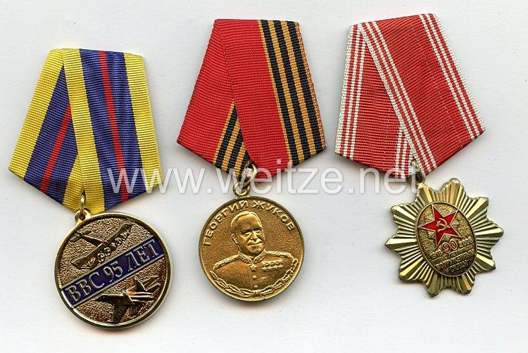 Sowjetunion und Russland: 3 Auszeichnungen