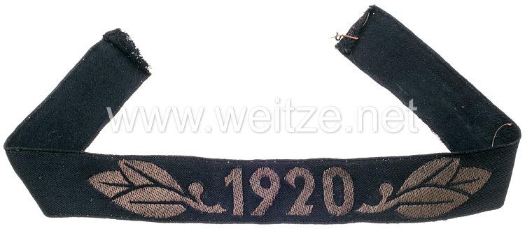 """Technische Nothilfe Traditionsärmelband """"1920"""""""