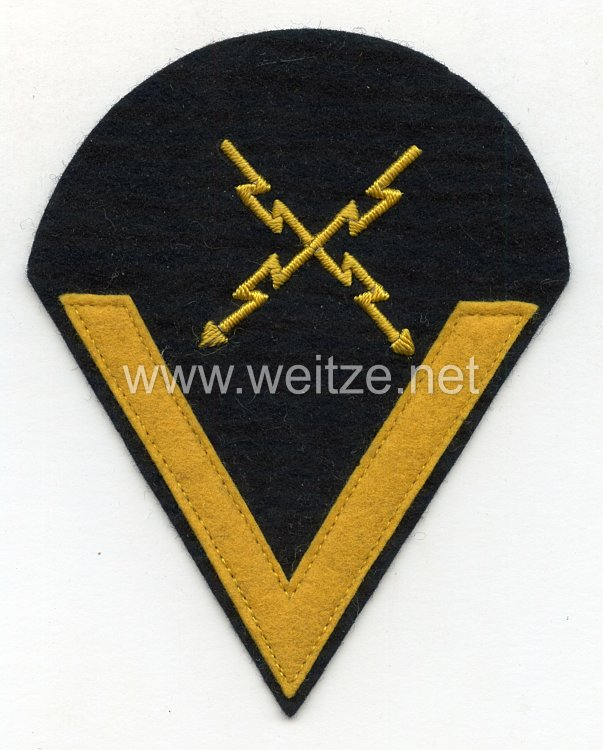 Kriegsmarine Ärmelabzeichen Gefreiter Fernschreiberlaufbahn