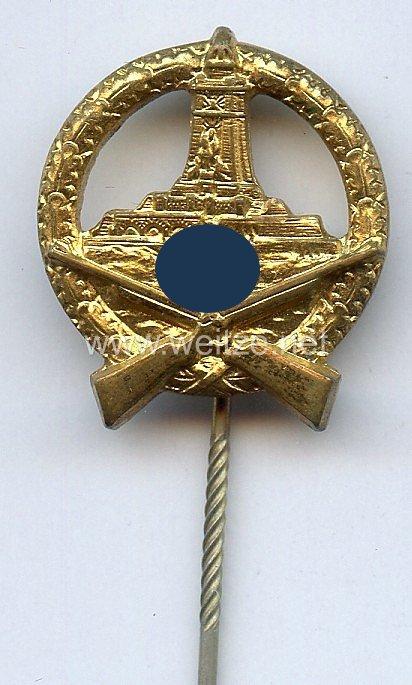 Deutscher Reichskriegerbund Kyffhäuser ( DRKB ) -Schießauszeichnung in Gold