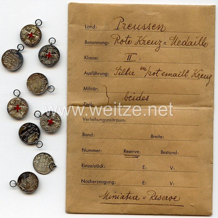 Preussen Rot-Kreuz-Medaille 2. Klasse - Miniatur
