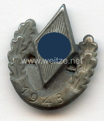 """Hitler-Jugend ( HJ ) - Siegernadel """" 1943 """""""