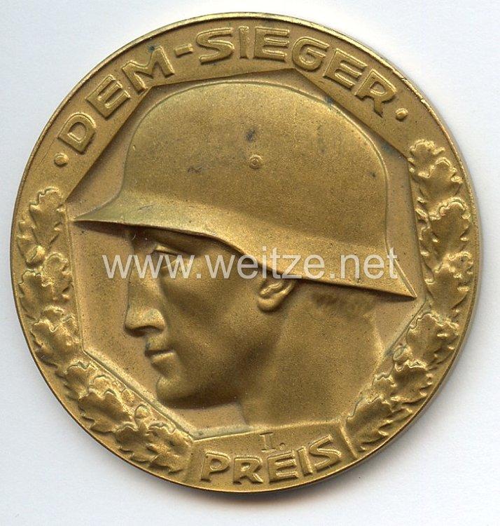 Meisterschafts-Plakette des Reichsheeres und der Reichsmarine 1919-1931 - 1. Preis von 1921
