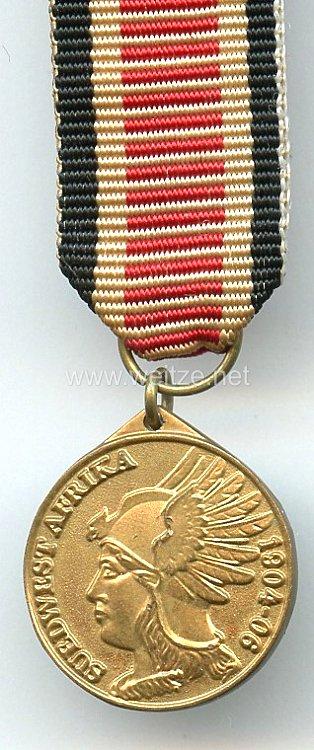 Preußen Südwestafrika Medaille - Miniatur