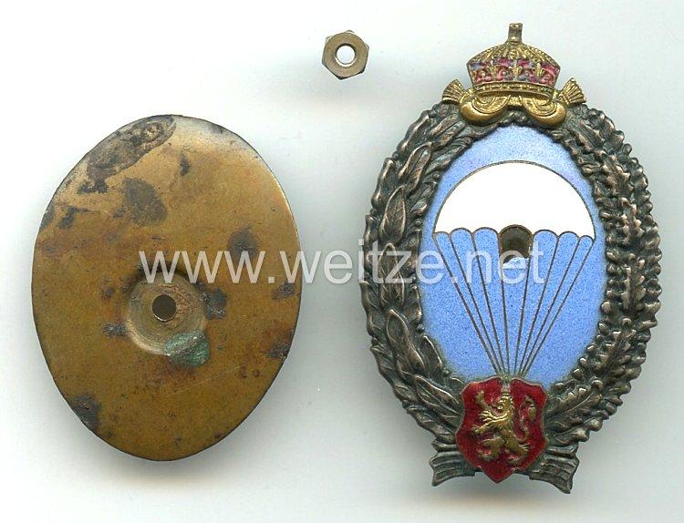 Парашютист 2. Мировая война -Болгария