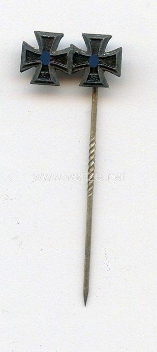 Miniaturspange eines Frontkämpfers im 2. Weltkrieg - 2 Auszeichnungen