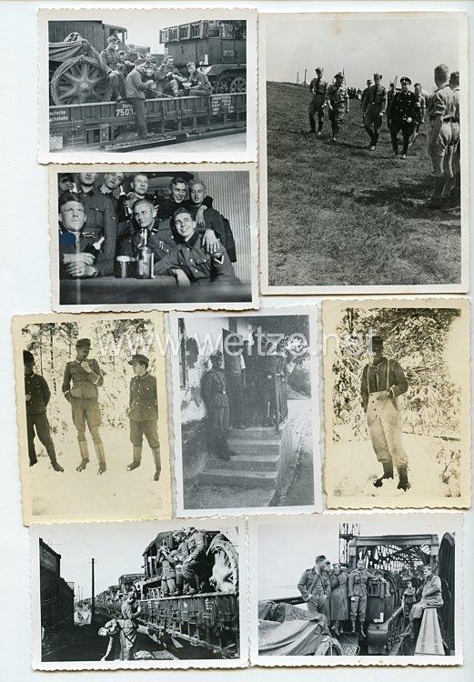 Waffen-SS Fotogruppe eines Angehörigen der SS