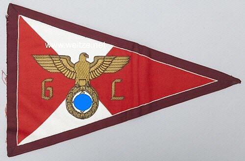 NSDAP Kfz-Stander für einen Leiter in der Gauleitung
