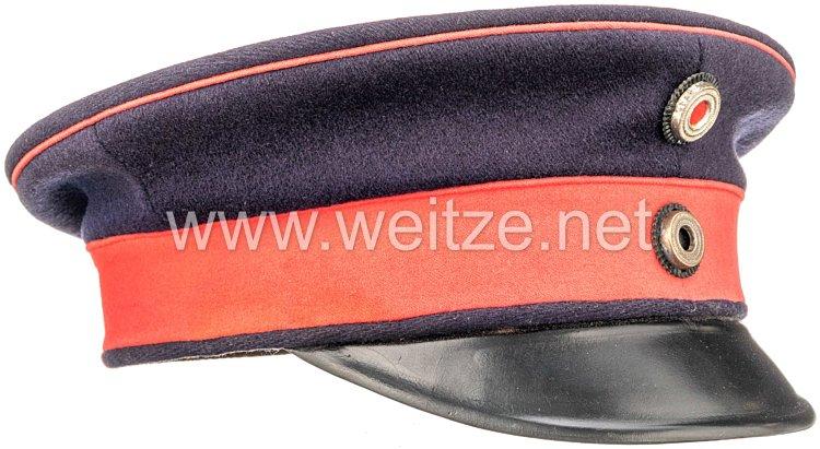 Preußen leichte Schirmmütze für einen Offizier im 2. Hannoverschen Ulanen-Regiment Nr. 14