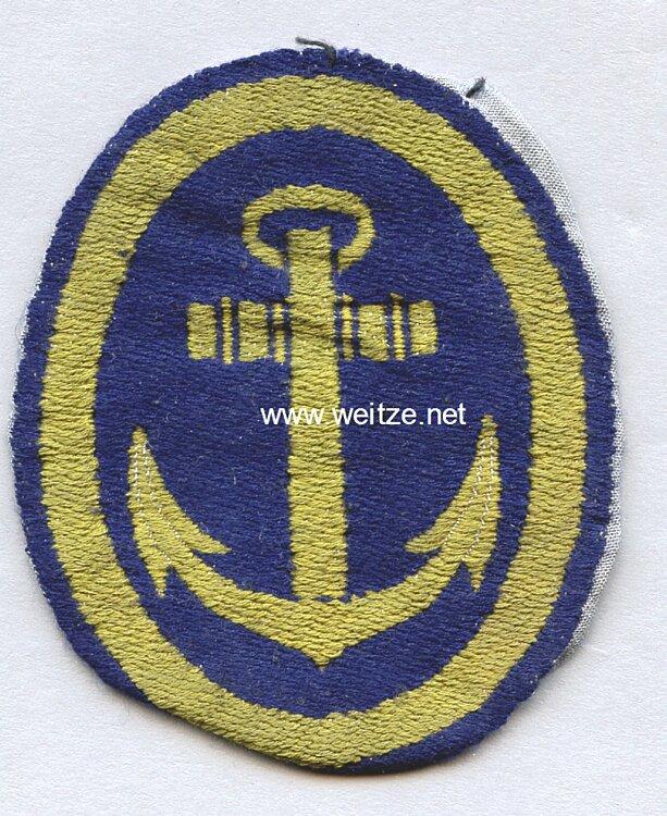 Kriegsmarine Abzeichen für den Sportanzug für Offiziere
