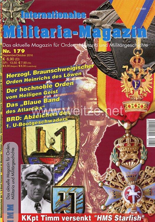 IMM Internationales Militaria-Magazin - Das aktuelle Magazin für Orden, Militaria und Militärgeschichte: