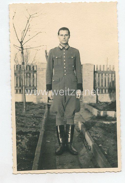 Portraitfoto eines Angehörigen der Polizei und Mitglied der SS