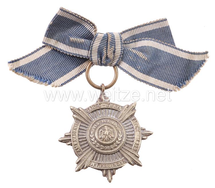 """Preußen - Zivilabzeichen für Angehörige """"Verein ehemalige Kameraden des Garde-Train Bataillons 1899"""""""