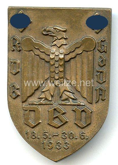 III. Reich - RDB - DBV - GdDA 18.5.-30.6.1933