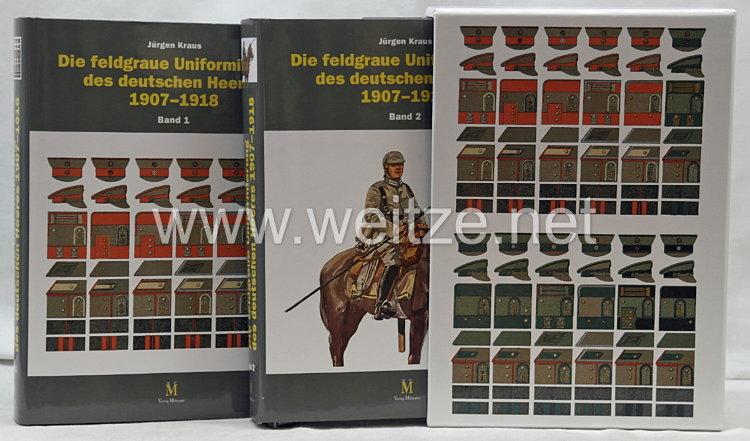 Dr. Jürgen Kraus:Die feldgraue Uniformierung des deutschen Heeres 1907–1918.