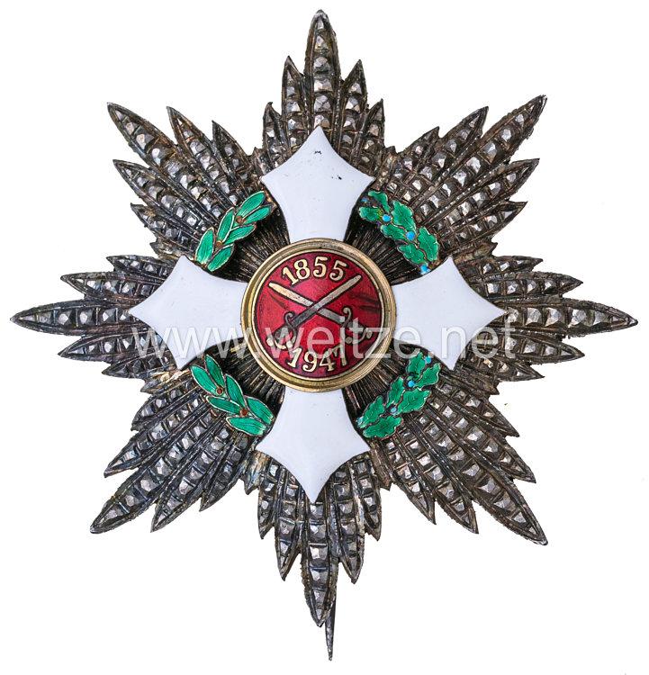 Militärorden von Italien, Modell 1947 Bruststern zum Großkreuz