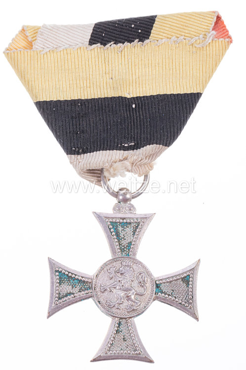Königreich Bulgarien Boris III. Dienstauszeichnung für Offiziere 2. Klasse für 10 Jahre