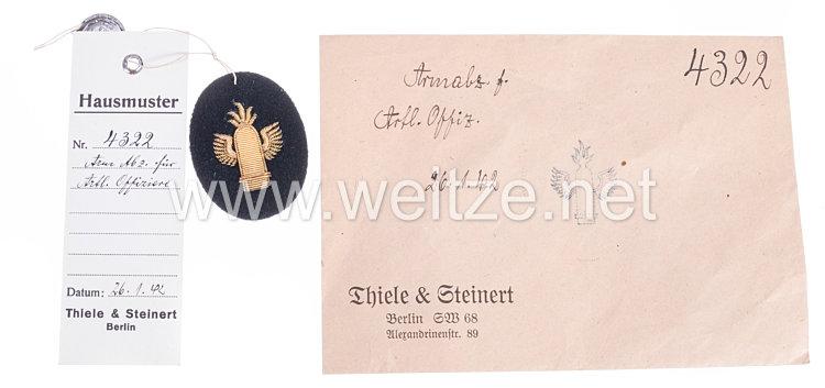 Kriegsmarine Ärmelabzeichen für Artillerie Offiziere
