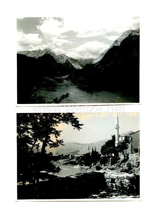 Waffen-SS Pressefotos: Aufnahmen von Landschaften aus Kroatien