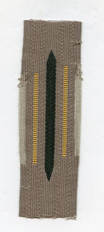 Wehrmacht Heer Einzel Kragenspiegel für Mannschaften Kavallerie