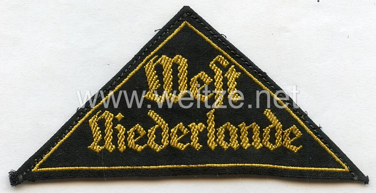 "HJ Gebietsdreieck ""West Niederlande"""