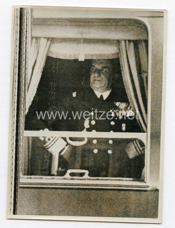 3. Reich Pressefoto: Admiral Horty