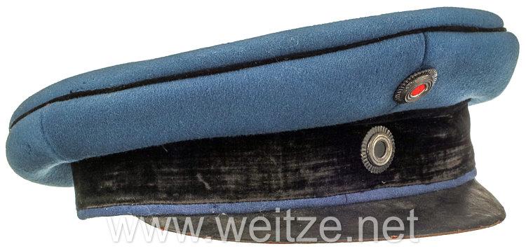 Preußen Schirmmütze für einen Offizier im Dragoner-Regiment Nr. 6 oder 14