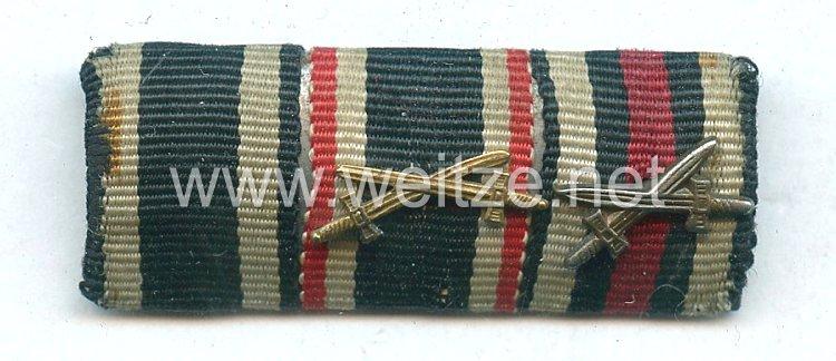 Bandspange eines Angehörigen der Wehrmacht und Veteranen des 1. Weltkriegs