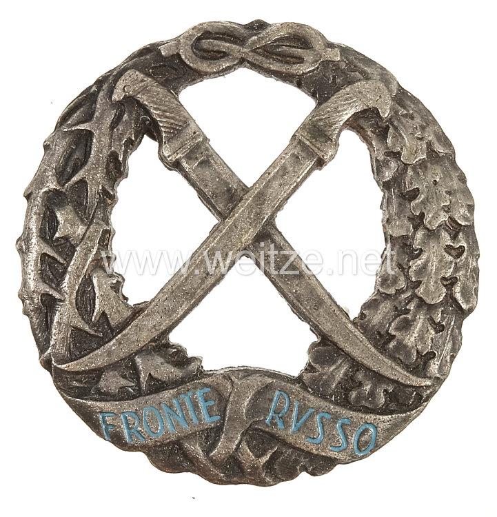 """Italien 2. Weltkrieg Erinnerungsabzeichen des Italienischen Expeditionskorps in Rußland """"Fronte Russo"""""""