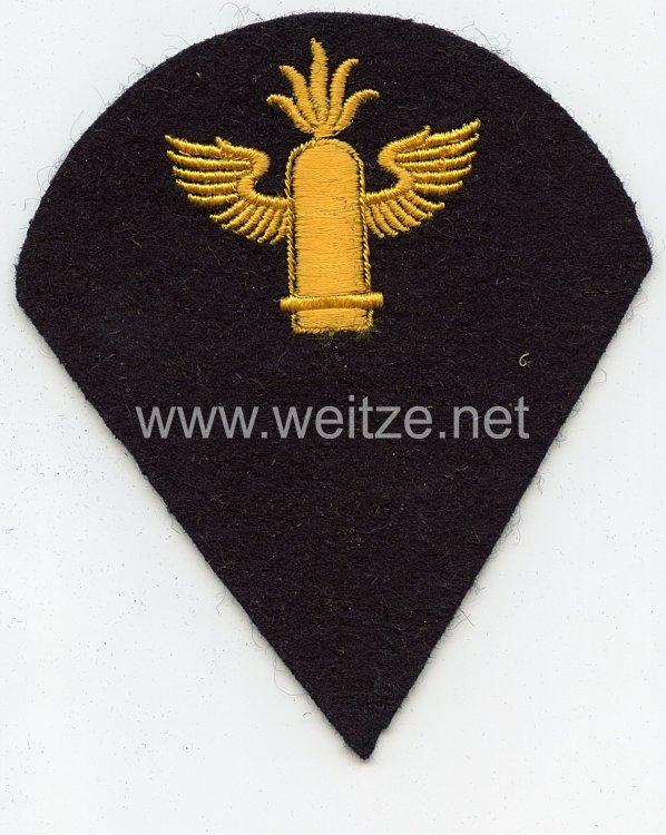 Kriegsmarine Ärmelabzeichen Mannschaften Marineartillerielaufbahn