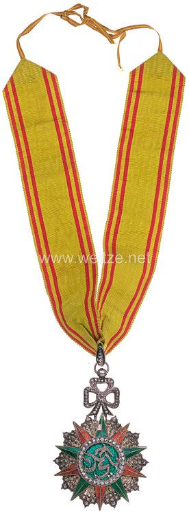 Königreich Tunesien Fürstentum Tunis Orden des Ruhmes - Nishan Iftikhar Kommandeurskreuz