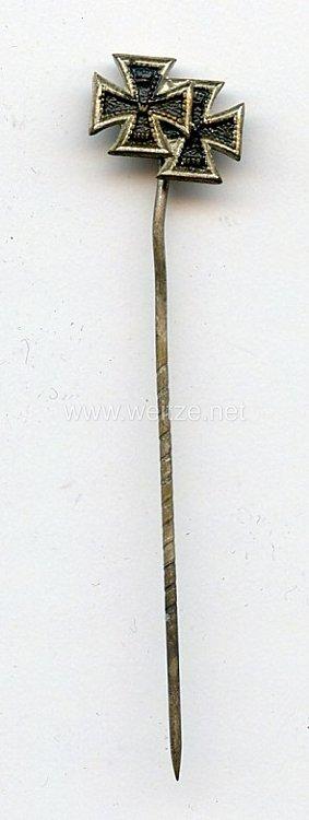 Miniaturspange eines Frontkämpfers im 1. Weltkrieg - 2 Auszeichnungen