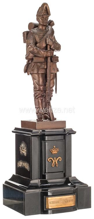 Braunschweig Statuetteeines Infanteristen des Infanterie-Regiments Nr. 92 in der