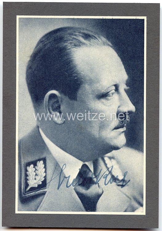 III. Reich - Originalunterschrift von Erich Koch, Gauleiter von Ostpreußen