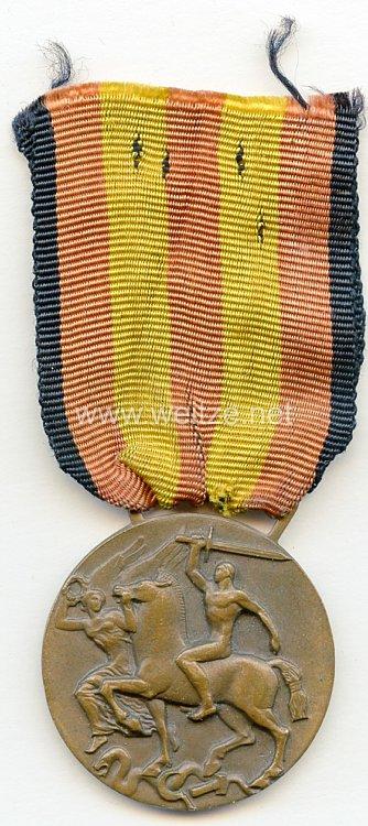 Italien Medaille für Kriegsfreiwillige im Spanischen Bürgerkrieg für die Befreiung Spaniens