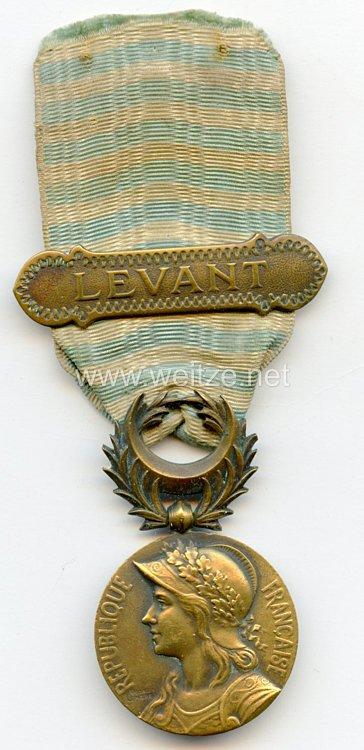 """Frankreich """"Médaille commémorative de Syrie-Cilicie"""" mit Spange """"Levant"""""""