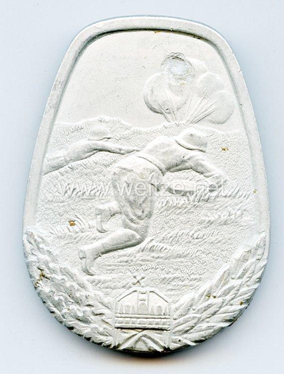 Ungarn 2. Weltkrieg Kampfabzeichen für Minenräumen in Silber