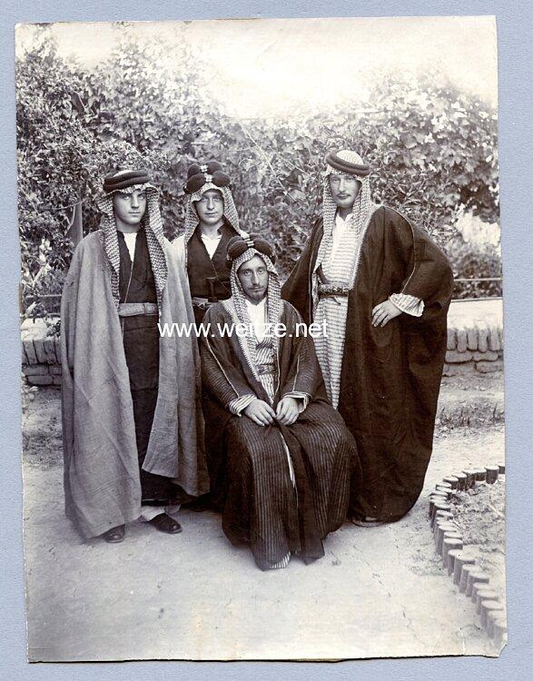 1. Weltkrieg Foto, deutsche des Asien-Korps / Levante-Korps in Palästina