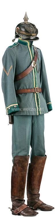 Preußen Uniform eines Gefreiten im Jäger-Regiment zu Pferde Nr. 3