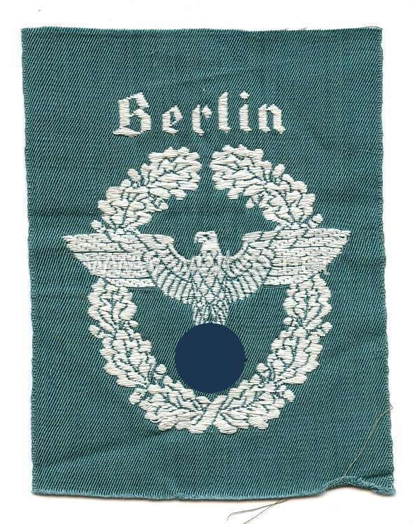 """Polizei Ärmeladler für die Polizei """"Berlin"""""""