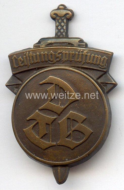Österreich - Deutscher Turnerbund ( DTB ) - Leistungsprüfungsabzeichen in Bronze