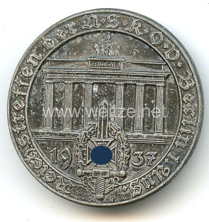 NSKOV - Reichstreffen der NSKOV Berlin 1. August 1937