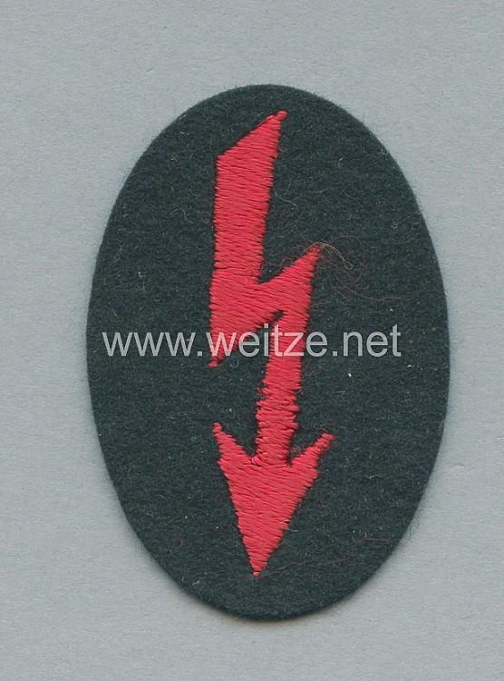 Wehrmacht Heer Ärmelabzeichen Funker Artillerie