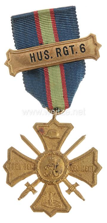 Preussen Regiments-Erinnerungskreuz des Husaren-Regiment Nr. 6