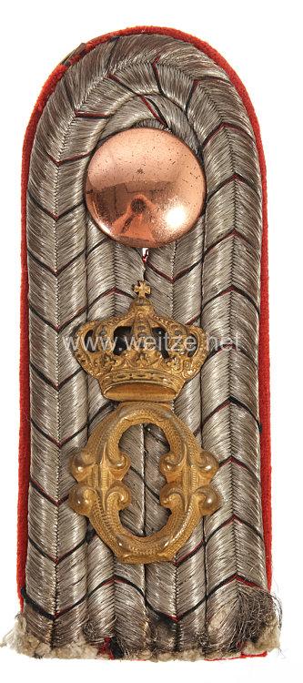 Württemberg Einzel Schulterstück für einen Leutnant im Grenadier-Regiment Königin Olga (1. Württembergisches) Nr. 119