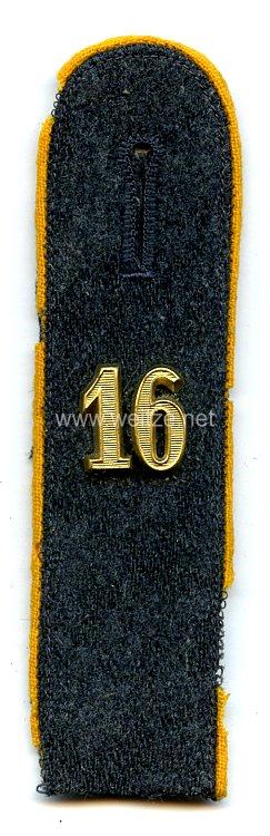 NSFK Schulterstück für Anwärter bis Obertruppführer der NSFK Fliegergruppe 16
