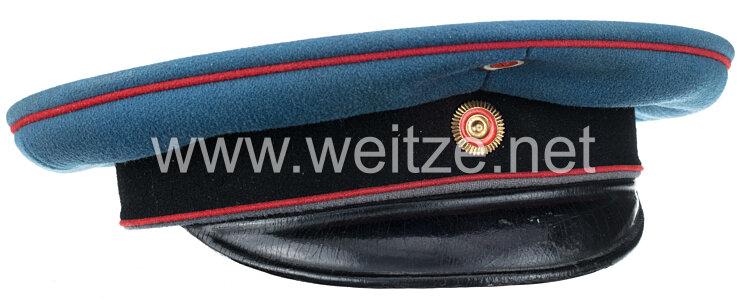 Baden Schirmmütze für Mannschaften in einem Feld-Artillerie-Regiment .