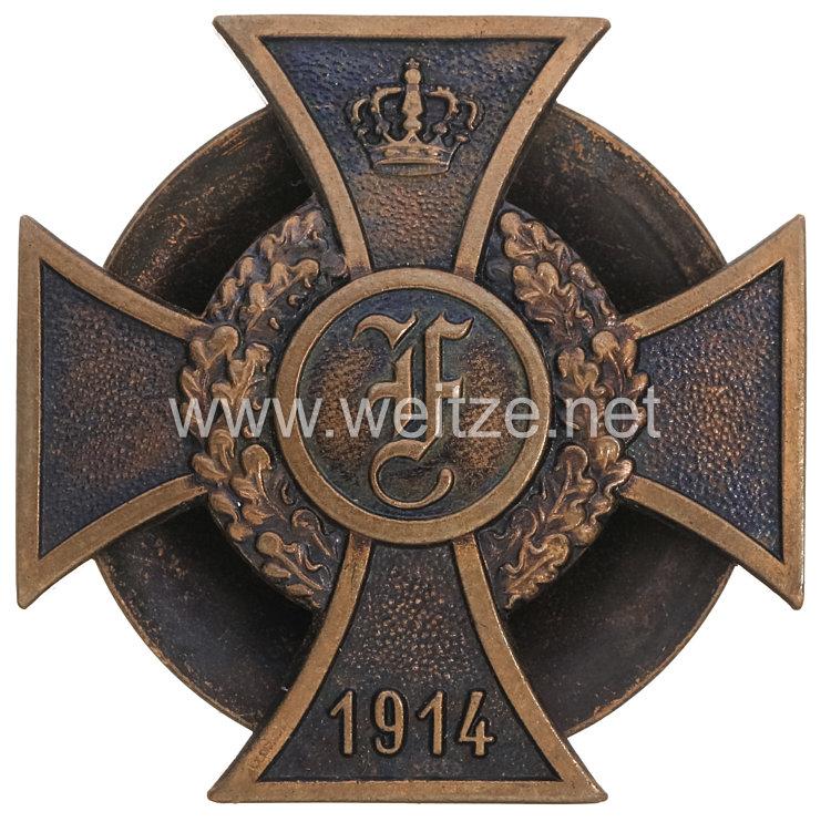 Anhalt Friedrich Kreuz 1914 1. Klasse Steckkreuz